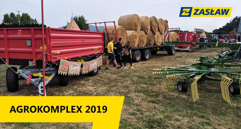 Zachęcamy do obejrzenia filmu z targów Agrokomplex 2019